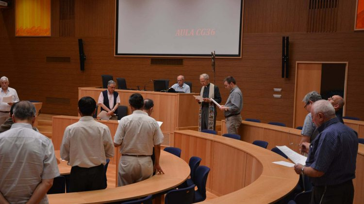 Benedizione della nuova Aula della Congregazione