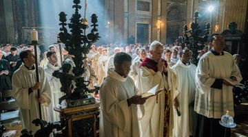 Mass of thanksgiving presided  by the new General