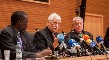 Superior General grants his first press conference – Oct 18