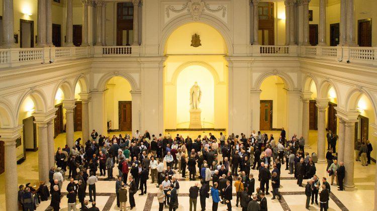 """El padre Arturo Sosa visita la Gregoriana con los delegados: """"trabajemos en red para mejorar nuestro servicio"""""""