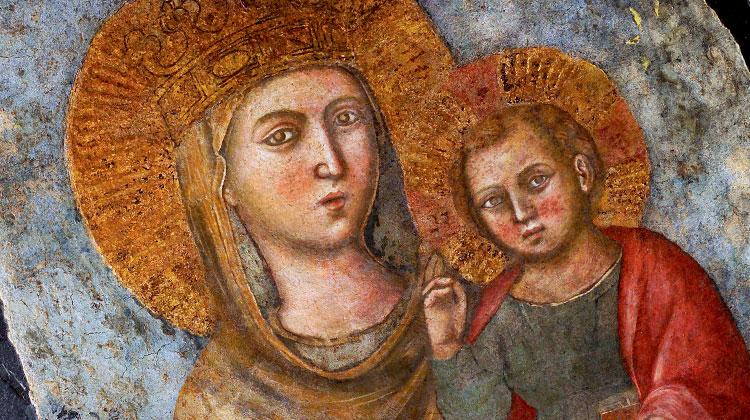 La Virgen María, Madre de la Compañía de Jesús