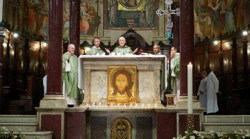 Mass at Santa Maria in Trastevere – Oct 29